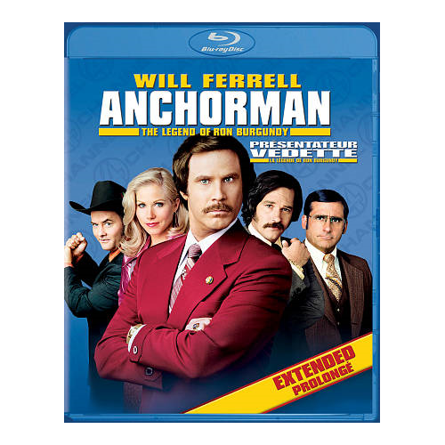 Anchorman (Édition de Rich Mahogany) (Blu-ray) (2004)