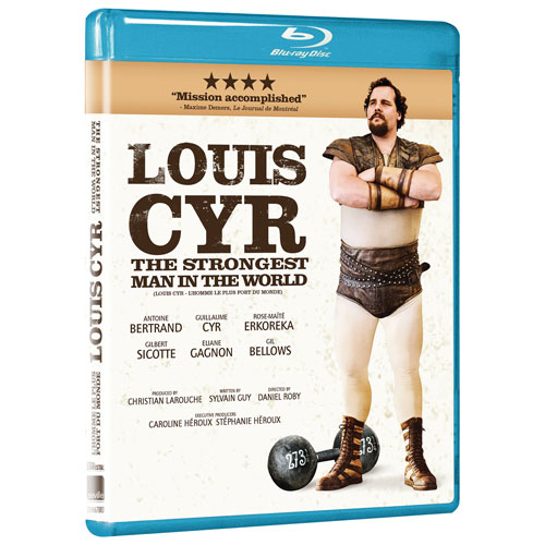 Louis Cyr: The Strongest Man In The World (Blu-ray) (2013)