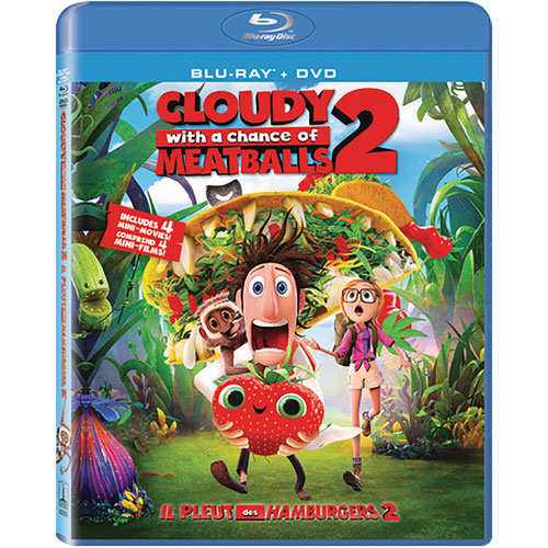 Cloudy With a Chance of Meatballs 2 (Combo de Blu-ray) (2013)