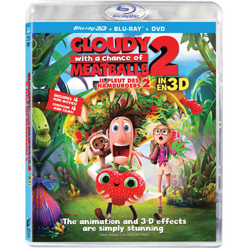 Cloudy With a Chance of Meatballs 2 (3D Blu-ray Combo)