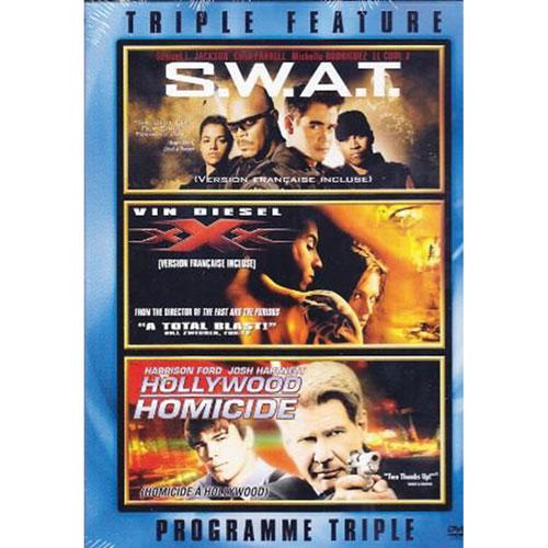 Swat/ XXX/ Hollywood Homicide (Bilingual)