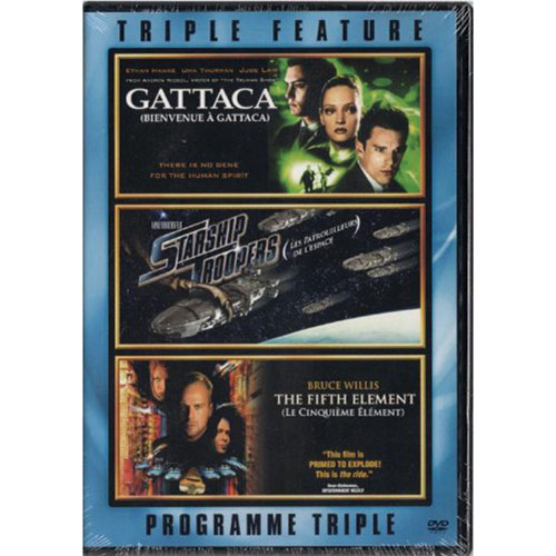 Gattaca/ Starship Troopers/ Fifth Element