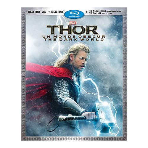 Thor: The Dark World (Bilingual) (3D Blu-ray Combo) (2013)