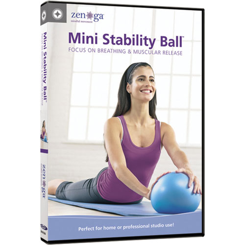 Mini Stability Ball - Focus on Breathing & Muscular Release (anglais)