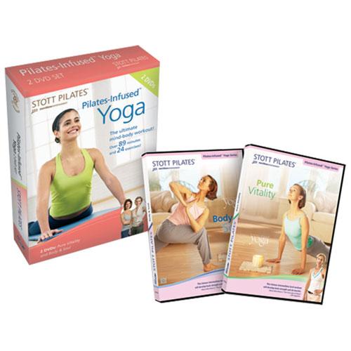 Pilates-infused Yoga DVD 2-Pack (anglais)