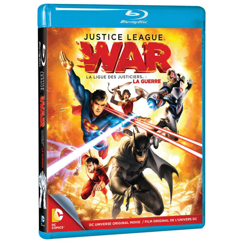 DC Universe: Justice League: War (Blu-ray) (2013)