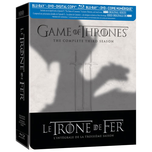 Game Of Thrones: Season 3 (French) (Blu-ray)