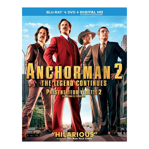 Anchorman 2: The Legend Continues (Blu-ray) (2013)