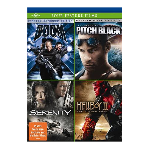 Doom/ Pitch Black/ Serenity/ Hellboy