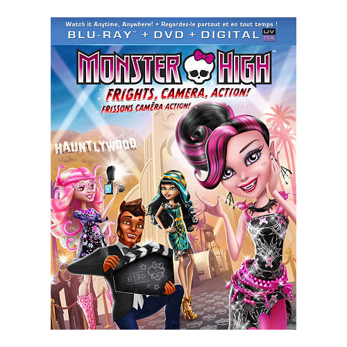 Monster High : Frissons caméra action! (Blu-ray)