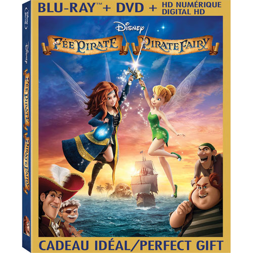 The Pirate Fairy (Bilingue) (Combo de Blu-ray)