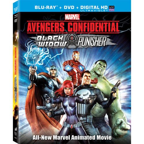 Avengers Confidential: Black Widow & Punisher (Blu-ray)