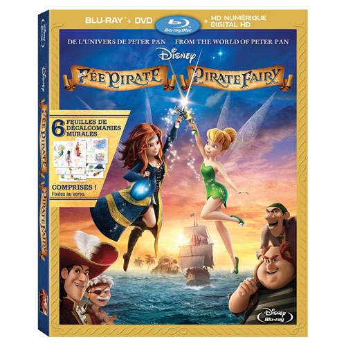 The Pirate Fairy (Bilingue) (Seulement à Best Buy) (Combo Blu-ray)