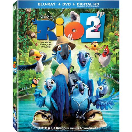 Rio 2 (Blu-ray Combo) (2014)