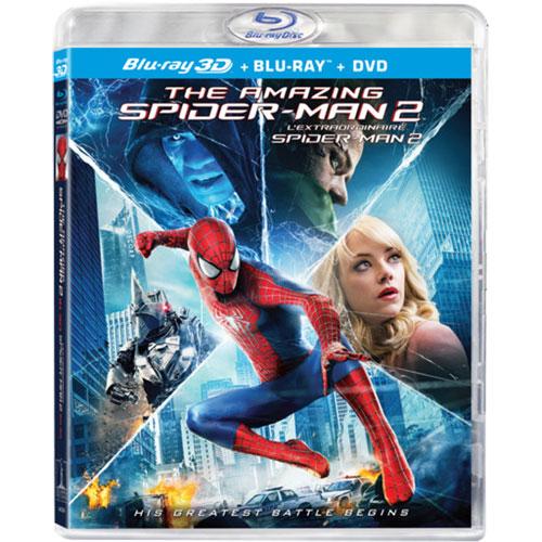 The Amazing Spiderman 2 (Combo de Blu-ray 3D) (2014)