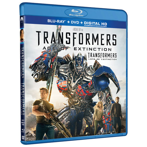 Transformers 4 Age of Extinction (Blu-ray Combo) (2014)