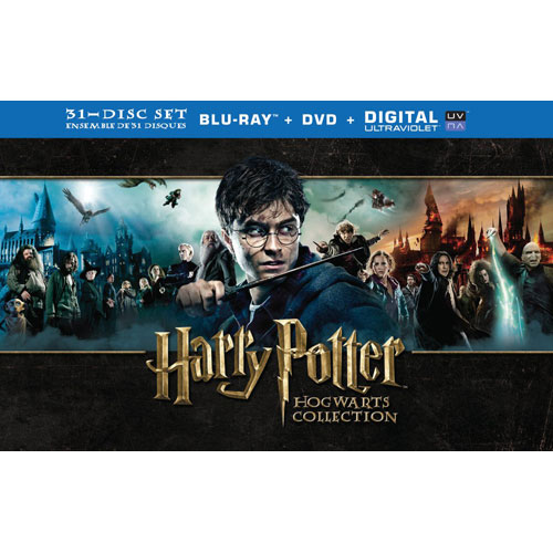 Harry Potter Hogwart's Collection (Blu-ray Combo)