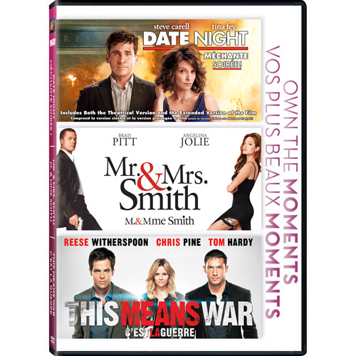 This Means War/ Date Night/ Mr & Mrs Smith