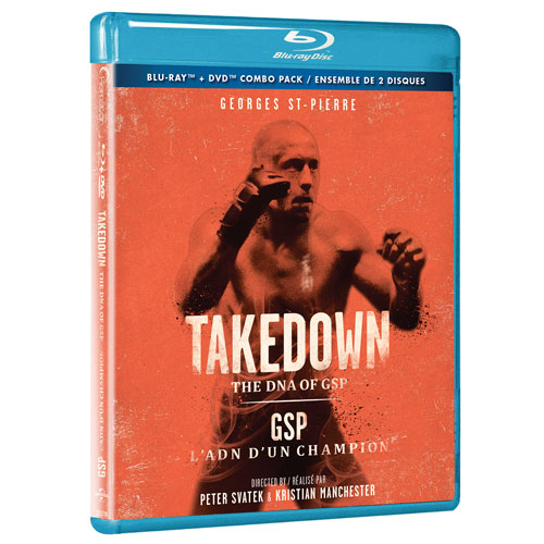 Takedown: DNA of GSP (combo Blu-ray)
