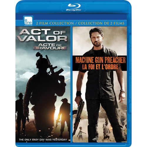Act Of Valor/ Machine Gun Preacher (Blu-ray)