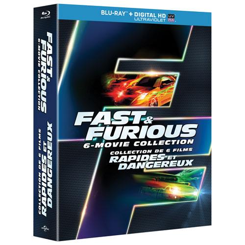 Fast & Furious: 6 Movies (Blu-ray)