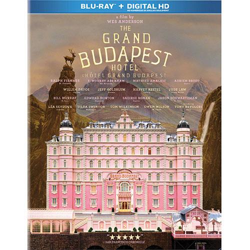 Grand Budapest Hotel (Blu-ray) (2014)