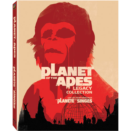 Planet of the Apes Legacy Collection (Blu-ray)