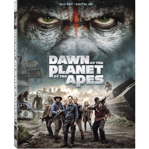 Dawn of the Planet of the Apes (Blu-ray Combo) (2014)