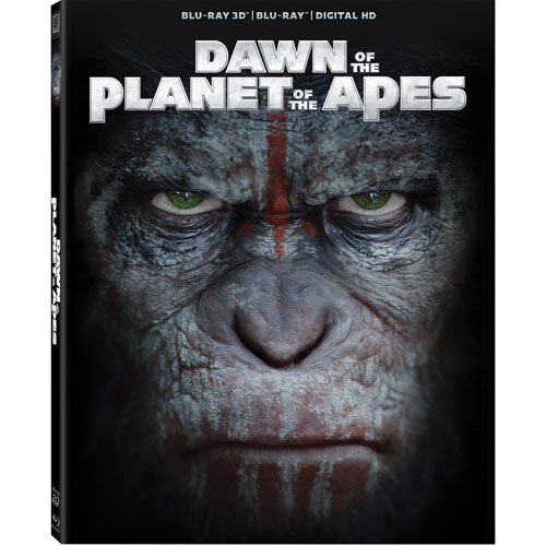 Dawn of the Planet of the Apes (3D Blu-ray Combo) (2014)