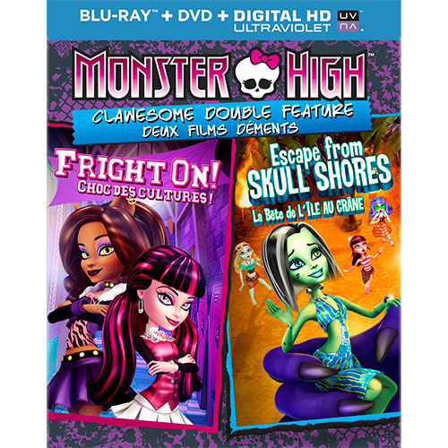 Monster High: Clawesome (2 films) (Blu-ray)