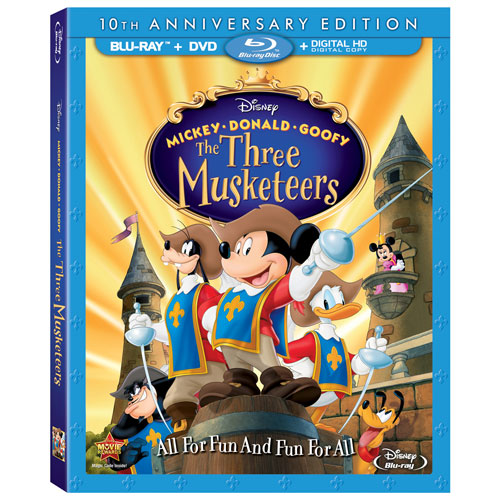 Mickey Donald Goofy: The Three Musketeers (10th Anniversary Edition) (Blu-ray Combo)
