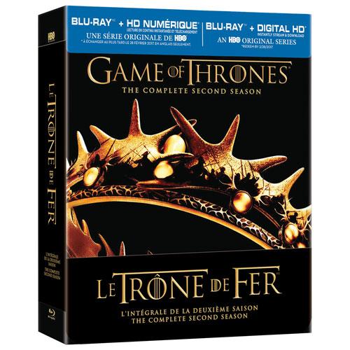 Game of Thrones: Season 2 (Bilingual) (Blu-ray)