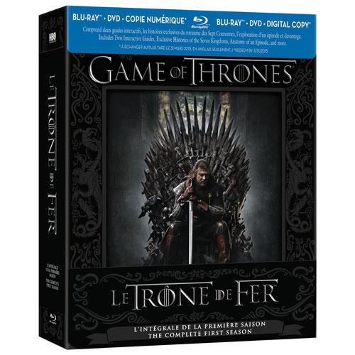 Game of Thrones: Season 1 (Bilingual) (Blu-ray)