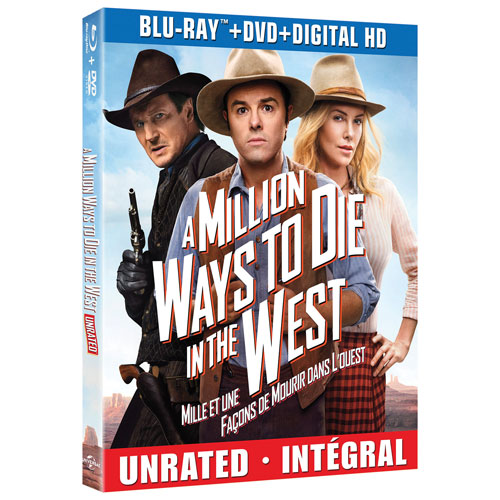 A Million Ways to Die in the West (Blu-ray Combo) (2014)