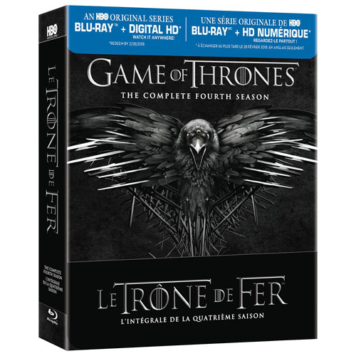 Game of Thrones: Season 4 (Bilingual) (Blu-ray)