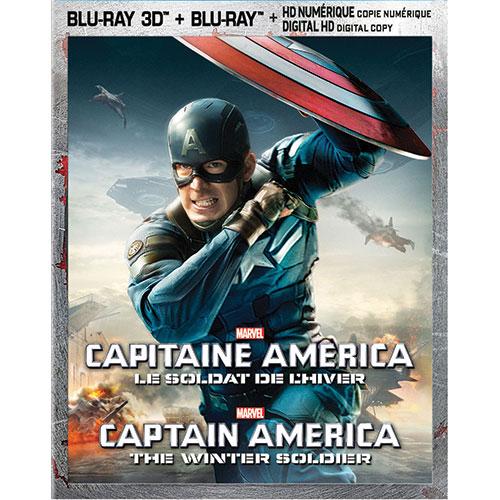 Captain America: Winter Soldier (Bilingual) (3D Blu-ray Combo) (2014)