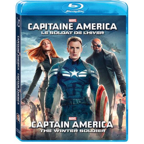 Captain America: Winter Soldier (Bilingue) (Blu-ray) (2014)