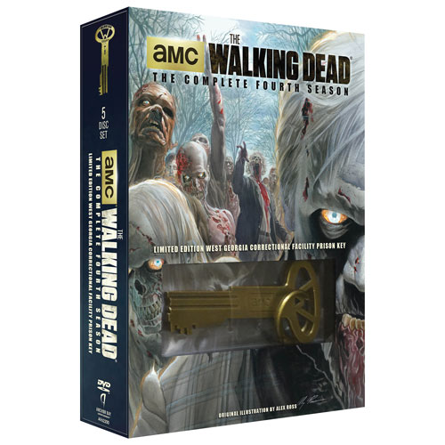 The Walking Dead: The Complete Fourth Season (Prison Key)