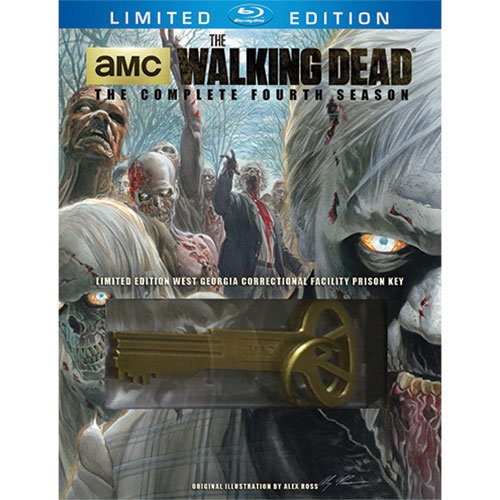 The Walking Dead: The Complete Fourth Season (Prison Key) (Blu-ray)