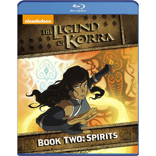 Legend Of Korra: Book 2: Spirits (Blu-ray)