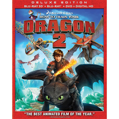 How to Train your Dragon 2 (3D Blu-ray Combo) (2014)