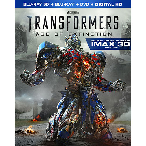 Transformers: Age of Extinction (Combo de Blu-ray 3D) (2014)