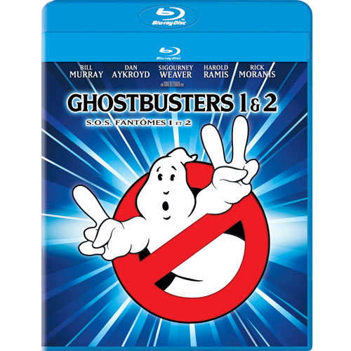 Ghostbusters 1 & 2 (4K-Remastered) (Blu-ray)