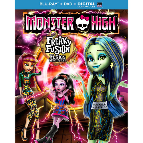 Monster High: Freaky Fusion (Combo de Blu-ray)