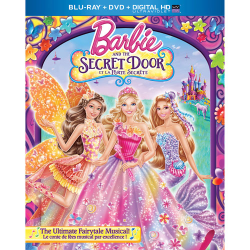 Barbie and Secret (Blu-ray Combo)
