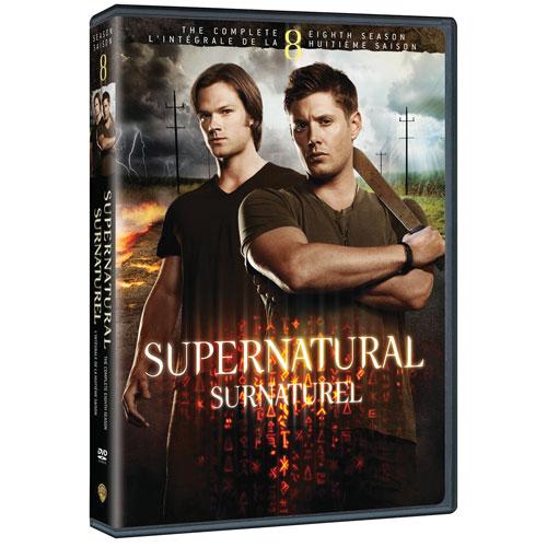 Supernatural: Season 8 (Bilingual)