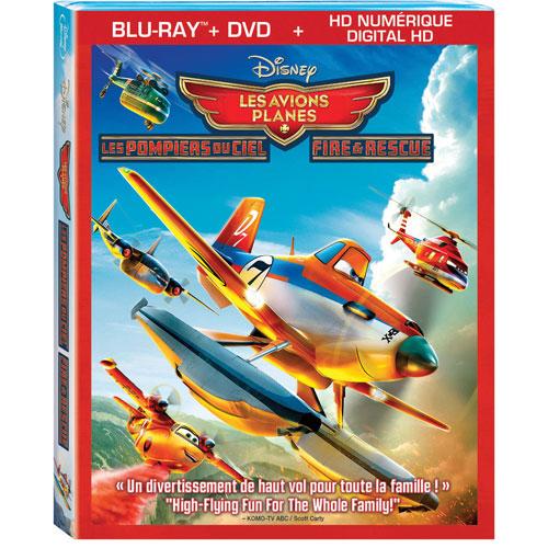 Planes: Fire & Rescue (Bilingual) (Blu-ray Combo)