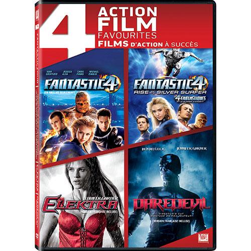 Fantastic Four/ Fantastic Four: Rise of the Silver Surfer/ Elektra/ Daredevil