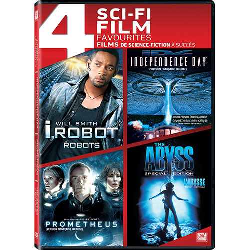 I Robot/ Independence Day/ Prometheus/ The Abyss