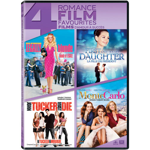 Legally Blonde/ First Daughter/ John Tucker Must Die/ Monte Carlo